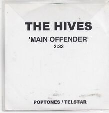 The Hives-Main Offender promo cd single