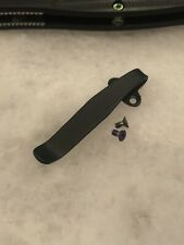Matte Black Titanium Deep Pocket Clip For Benchmade 940 943 Folding Knife