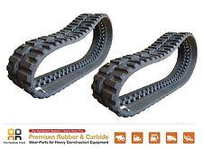 2 pcs of Rubber Track, 450x86x59 - CAT 268B 268D 242B 262 252 LOEGERING VTS 18