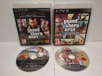 Lot 2 jeux PS3 GTA San Andreas & Épisodes of Liberty City PAL fr - Très bon état