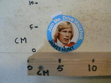 STICKER,DECAL VAUXHALL JAMES HUNT ? JOIN ME DRIVE VAUXHALL FORMULE ONE F1