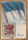 Deutschland Germany POMMERN DRAPEAU FLAG IMAGE CARD 30s