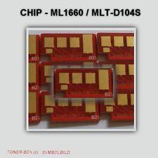 1 Reset Chip for Samsung ml1660/mlt-d104s TONER CARTRIDGE 1,5k pages (APEX)