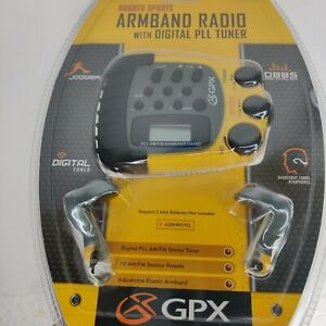 GPX Rugged Sports Armband Radio With Digital PLL Tuner A2099RSYEL New In Package