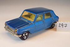 Majorette 1/60 Nr. 234 Simca 1100 blaumetallic Nr. 2 #297