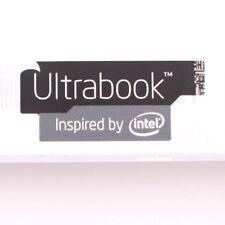 5pcs  NEW Ultrabook Inspired by black 13*30mm ST037 Sticker Badge case laptop