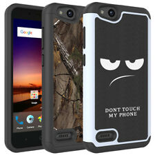 For  ZTE Avid 4 / ZTE Tempo X Case Hard Silicone Hybrid Shockproof Phone Cover