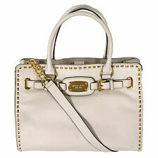 Michael Kors Handbag Hamilton Whipped Large Ew Tote Leather Vanilla 38h3xhwt3l