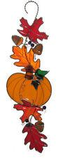 Fall Scroll Kit Precut Stained Glass Please Read Description Pumpkin Leaves 9822