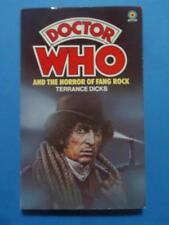 DOCTOR WHO AND THE HORROR OF FANG ROCK TARGET 1ST PRINT 1978 FRESH