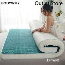 Foam Latex Hard Bed Topper Tatami Floor Mattress Mat Bed Mattress  Foldable