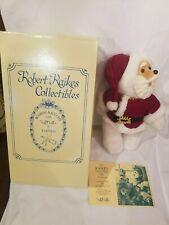 "Raikes Collectible Bears 15"" St. Nicholas Santa Claus Hand Signed Christmas tag"