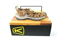 Keen Whisper Womens Size 6.5 Waterproof Sport/Hiking Sandals Brown Nylon Leather