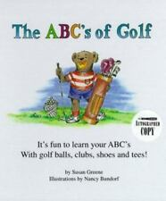 The ABC's of Golf by Susan Greene (1996, Hardcover, Large Type)