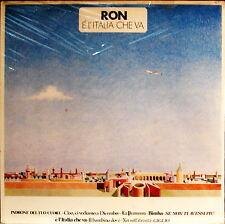 RON - E' L'Italia Che Va con Anna OXA e A. Baraldi 1986 LP 33 Giri SIGILLATO