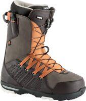 New 2019 Nitro Thunder TLS Snowboard Boots Mens 10.5 Brown