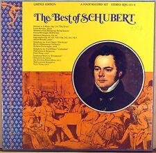 4 LP BOX SINE QUA NON Best of Schubert FURTWANGLER MAAG BRENDEL SQN-133/4