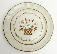Cumberland Mayblossom Brown by Hearthside Stoneware Salad Plate Japan 7-3/4""