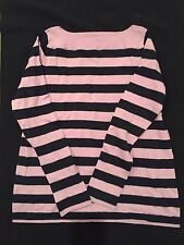 Women's GAP Boatneck Pullover Sweater Size Small Striped