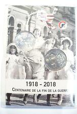 LA GRANDE GUERRE  MONNAIE DE 10€ ARGENT ET MÉDAILLE BLEUET  POPPY  NEUF BLISTER