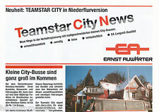Prospectus EA Ernst Auwärter teamstar News 1992 bus omnibus brochure coach