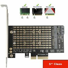 More details for pcie to m2/m.2 adapter m.2 ngff to desktop pcie x 2 slots