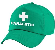 PARALETIC Printed Baseball Cap Kelly Green Funny Joke Drink Beer Gift Present