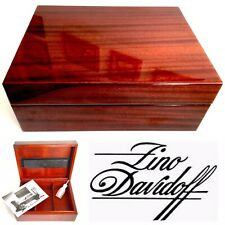 "Superb Quality Large (12""x9""x5"") Handcrafted Swiss Davidoff Cigar Humidor (2kg)"
