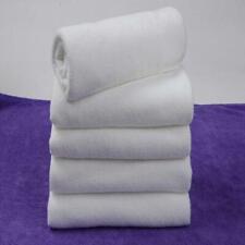 5pcs White Ultra Light Soft Hand Towel Bath Towel Wash Hand Towel For Travel