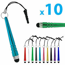 Mix 10X Universal Metal Stylus Touch Screen Pen For iPhone 8 Samsung Smart Phone