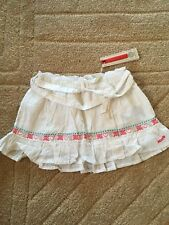 New With Tags MEXX Cotton Embroidered Skirt Age 12-18 Months