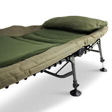 Abode ® mousse à mémoire de forme confort polaire Big-Boy ™ Pêche à La Carpe Camping 6 Jambe Bedchair
