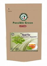 Holy Basil Tulsi Tea Anti Aging,Stress Relief,Weight loss,Whole herb, 20 Bags