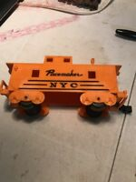 Marx O GAUGE Toy Train Pacemaker NYC Car, Orange Caboose