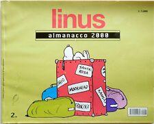 RIVISTA FUMETTI LINUS ALMANACCO 2000 2