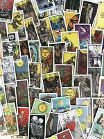 60pc Tarot Card Spirit Stickers Notebook Laptop Decal Metaphysical Art Pack Set