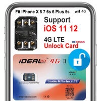 Universal Unlock Turbo Sim Card For Apple iPhone X 8 7 6S 6 Plus 5S SE 5 GPP