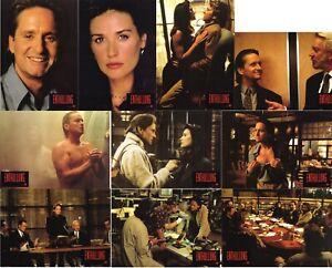 Disclosure Enthüllung German lobby card set 10 AHF  Michael Douglas, Demi Moore