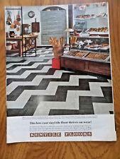 1968 Kentile Floors Ad Bakery Marbles Vinyl   1968 Whirlpool Refrigerator Ad