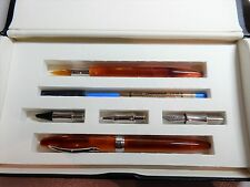 Visconti Art of Writing Set. BNIB. Pearlescent Orange