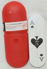 """6"""" UMBRE ANTE PLAYING CARDS WITH CASE NEW"""