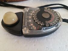 NORWOOD DIRECTOR LIGHT METER MODEL C NO.41631 WITH CASE