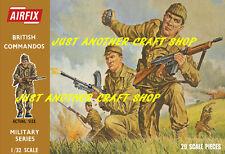 Airfix 1/32 Brown Box British Commandos Large A3 Size Poster Advert Box Artwork