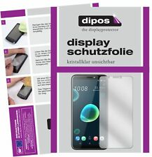 2x HTC Desire 12 Protector de Pantalla protectores transparente dipos