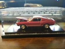 Hot Wheels 100% Black Box Red 1967 Shelby GT-500 w/Real Riders