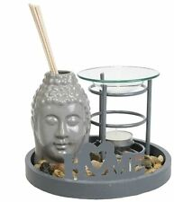 Duftlampe Aromalampe Buddha Feng Shui Tibet Nepal Raumduft Dekoration AL143 G