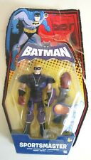 DC BATMAN SPORTSMASTER CHARACTER 2009 MATTEL P3387 FIGURE DAMAGED BOX