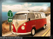 0154 Classic Camper Van Maxi Poster 61cm x 91.5cm