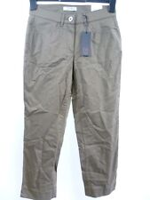 Gerke My Pants Lori S Cropped Trousers Size 38 (UK 10) Brown RRP £42 Box44 10 F
