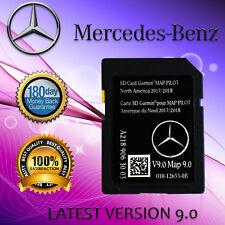 LATEST 2018 2019 Mercedes 9.0 GPS NAVIGATION SD CARD MAP PILOT GLC E C-Class
